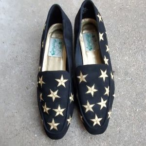 Quaker factory star EMBROIDERED driving shoes